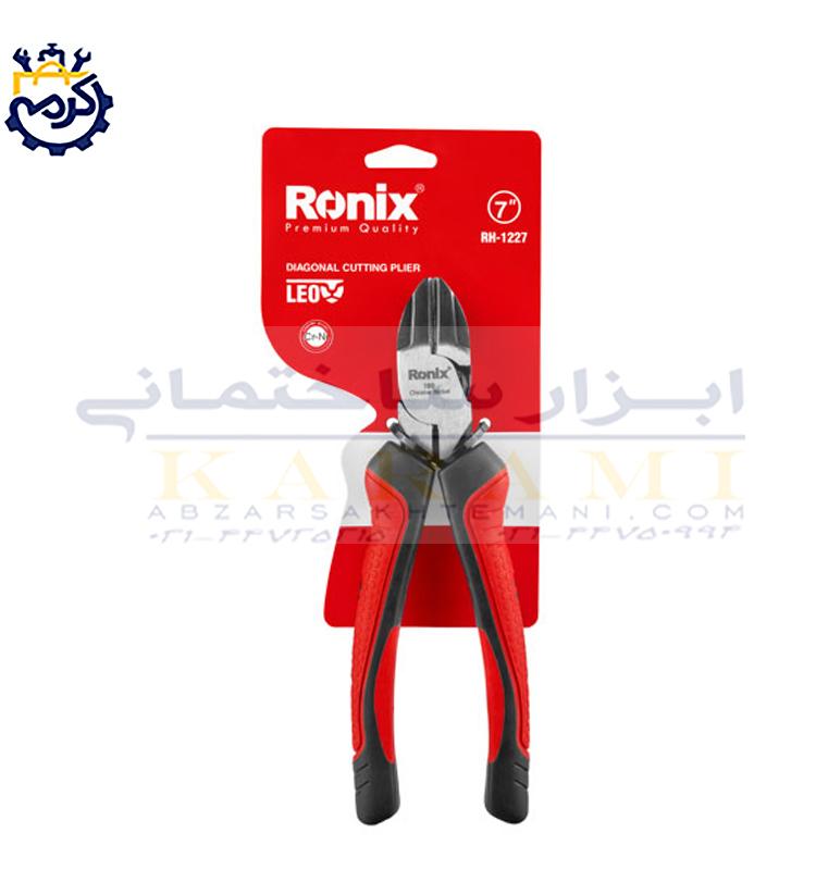 انبر سیم چین رونیکس مدل RH-1227 سایز 7 اینچ